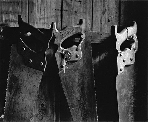My Father's Saws, Copyright ⓒ 2004 Cate McRae; All Rights Reserved reserved